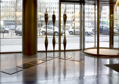 8 Orbe, bronze, 2m, for Kaufman & Broad's main entrace hall,Paris*